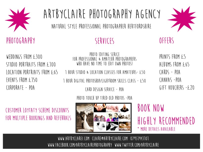 ARTBYCLAIREPHOTOAGENCYPROMO-MARCH2016