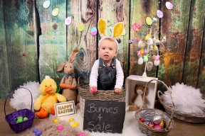 Easter Bunny Photo by ArtbyClaire Photography