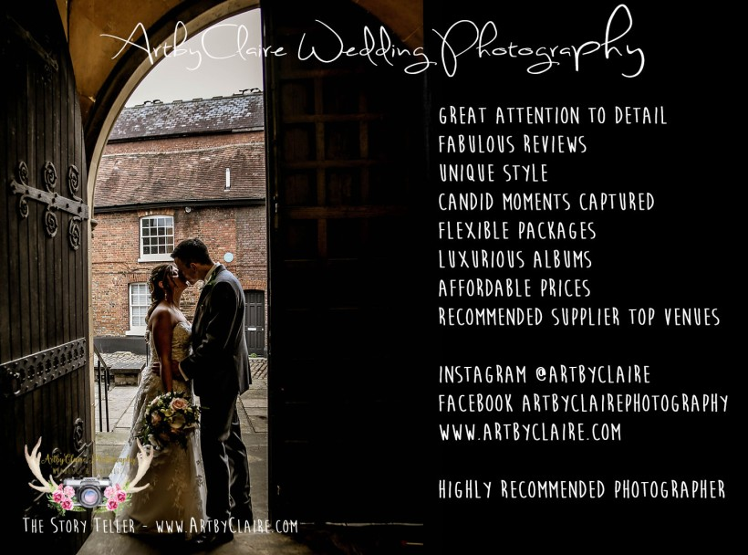 St Peter's Church, Berkhamsted, Weddings by ArtbyClaire Wedding Photography