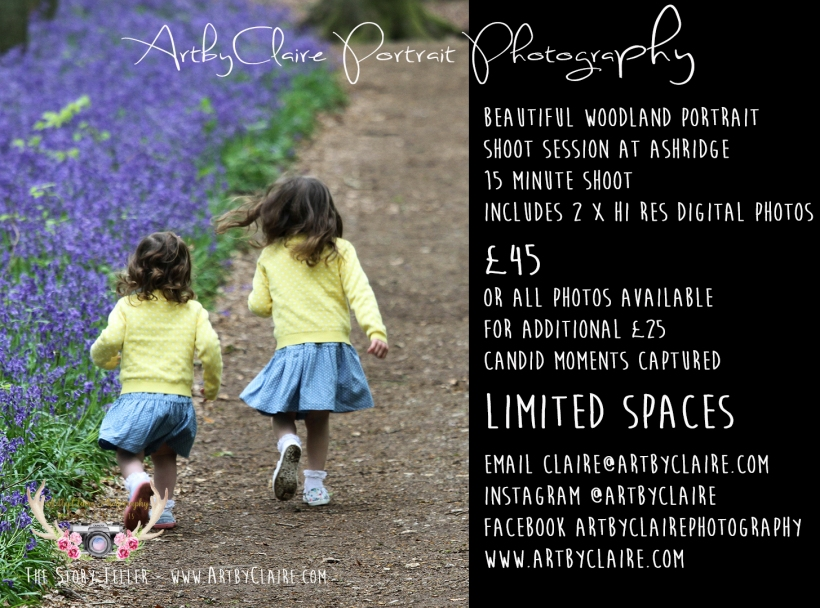 BlueBell Wood Shoots by ArtbyClaire Photography