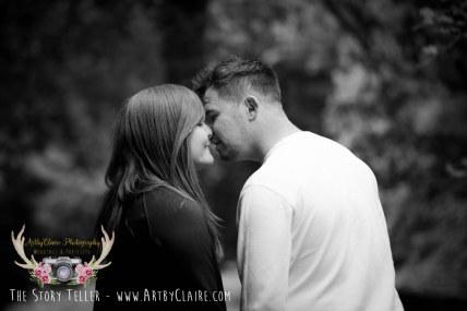 Ashridge Engagement Shoot by ArtbyClaire Wedding Photography