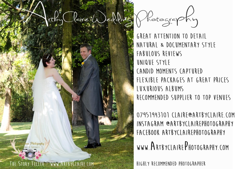 ArtbyClaire Wedding Photographer Natural, Documentary Style Photography